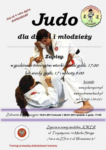 plakat judo1