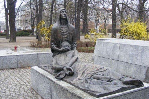 Pomnik Ofiar Katynia- Pieta Katyńska - Wrocław