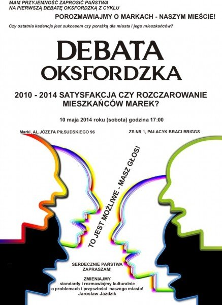 Plakat-Debata