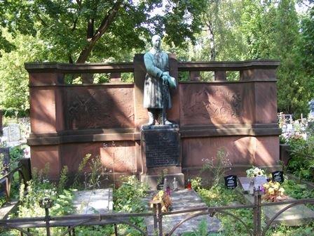 Pomnik na mogile Benedykta Pęczkowskiego