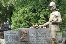 Pomnik na mogile Stefana Pogonowskiego