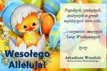 Życznia Wielkanic radny