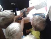Dzieci poznają pracę bibliotekarza