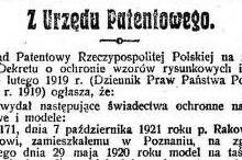 Monitor Polski, 1921, nr 273, 30-11-1921, p007, wycinek 1 (2)