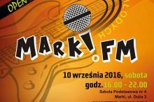 II Festiwal Młodych MARKI.FM - plakat