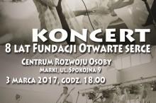 Plakat koncert rocznica fundacji MAŁE