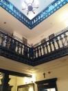 Oryginalna klatka schodowa w Pałacyku Briggsów
