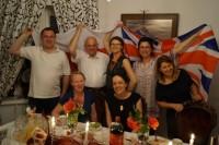 Delegacja z Bradford na kolacji ze Stowarzyszeniem Marki Pustelnik Struga