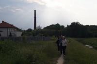 Spacer wzdłuż rzeki Długiej Delegacja z Bradford