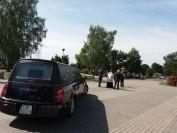 karawan należący do zakładu pogrzebowego Zieleń Miejska