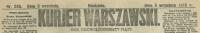 Kurjer Warszawski. R. 95, 1915, nr 245, p0001-sel-1