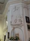 Płaskorzeźba przedstawiająca Św. Jana Chrzciciela i czrzest Jezusa w Jordanie
