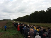 Różaniec pod białoruską granicą 2017