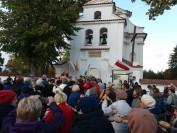 Zakończen ie modlitwy różańcowej Niemirów Różaniec do Granic 2017