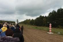 pas graniczny Niemirów Różaniec do Granic 2017