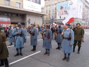 Błękitna Armia Gen Hallera na Marszu Niepodległości 2017