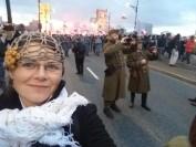 Marsz Niepodległości 2017 Most Poniatowskiego