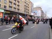 Motocykliści na Marszu Niepodległości 2017 (2)