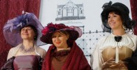 Flora i Augusta Briggs oraz hrabina Augusta Małachowska