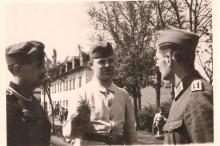 Zolnierze Wehrmachtu w Pustelniku. 1939 r.