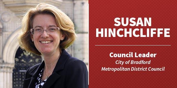 Susan-Hinchcliffe council leader Bradford