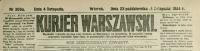 Kurjer Warszawski. 1884, nr 306a, p0001-sel.1
