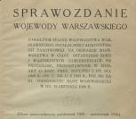 Sprawozdanie Wojewody Warszawskiego X.1929-X.1930, p0009-sel