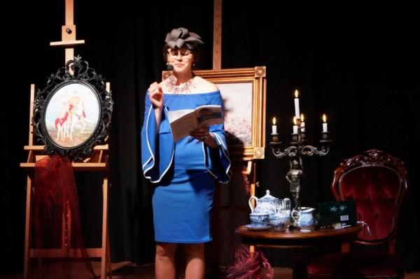 Bogusława Sieroszewska Wieczór poezji w Mareckim Ośrodku Kultury 17 lutego 2018