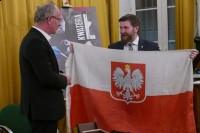 Flaga Narodowa relikwia z Łączki