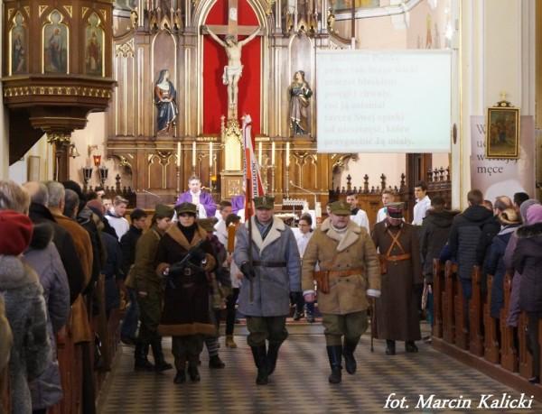 Msza św w intencji Żołnierzy Niezłomnych u św Izydora 4 marca 2018