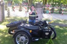 Swiecenie motocykli u sw. A. Boboli w Strudze