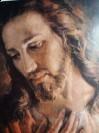 Twarz Jezusa Chrystusa Zdjęcie zrobione przez włoskiego  stygmatyka brata Elio.