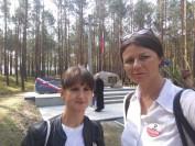 Grażyna Kurek  i Bogusława Sieroszewska w Jerzyskach 2018
