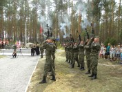 Jerzyska 2018 wojsko Polskie z Mińska Mazowieckiego fot Tygodnik Siedlecki
