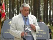 dr Paweł Abramski, syn pchor Tadeusza Abramskiego, weterana walk pod Jerzyskami fot Tygodnik Siedlecki