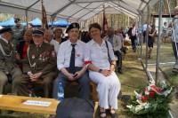 od prawej Bogusława Sieroszewska, kpt Jerzy Nowicki, mjr Antoni Zienkiewicz