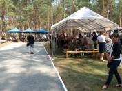 przed uroczystościami w lesie pod Jerzyskami