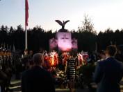 składanie wieńców pod Pomnikiem 1920 roku