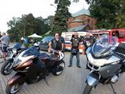 Motocykliści Stowarzyszenia MPS na pikniku u św Izydora 2018