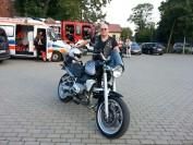 Motocyklista Robert Mielczarek