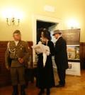 Prezentacja mareckiej inscenizacji pt W Pałacyku po Bitwie
