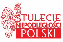 logo na 100-ecie Odzyskania przez Polskę Niepodległości