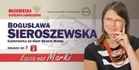 Bogusława Sieroszewska kandydatka do Rady Miasta Marki okręg nr 2