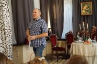 Jacek Gołaszewski konferansjer Oranżeria Pałacyku Briggsów 14 paź 2018