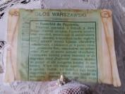 O karetce Florze w Głosie Warszawskim