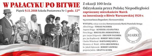 Przedstawienie W Pałacyku po Bitwie 9 listopada 2018