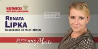 Renata Lipka kandydatka do Rady Miasta Marki  okręg nr 1