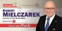 Robert Mielczarek kandydat do Rady Miasta Marki okręg 2