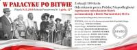 W Pałacyku po Bitwie 9 lis 2018 inscenizacja Stowarzyszenia Marki Pustelnik Struga z okazji 100 lecia odzyskania przez Polskę Niepodległości