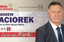 Zbigniew Paciorek kandydat do Rady Miasta Marki okręg 1